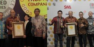MTF Sabet Penghargaan Trusted Company GCG Award 2016