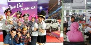 Dukung Acara Year End Suzuki KJIU, MTF Tawarkan Paket Kredit Menarik