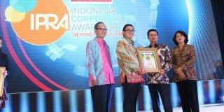 Warta Ekonomi Indonesia Corporate PR Award 2017
