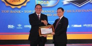 MTF Raih Tiga Penghargaan Top Multifinance 2018