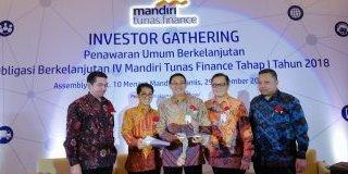 Investor Gathering Penawaran Umum Obligasi Berkelanjutan IV Mandiri Tunas Finance Tahap I Tahun 2018