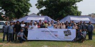 MTF Peduli Tsunami Banten