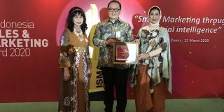 MTF Raih 2nd The Best Indonesia Sales Marketing Award 2020