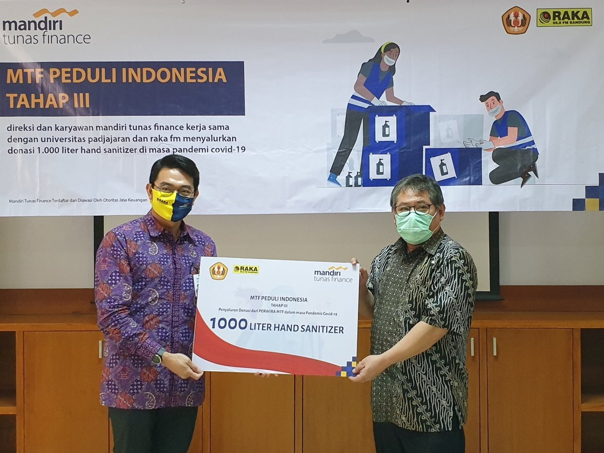 Mandiri Tunas Finance Realisasikan  Program MTF Peduli Indonesia Tahap III