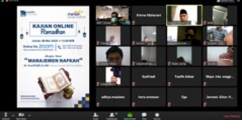 Kajian Online Ramadhan MTF II: Manfaat Zakat dan Sedekah di Tengah Pandemi Covid-19