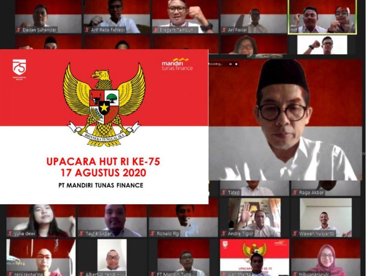 MTF Gelar Upacara Peringatan HUT Kemerdekaan RI Ke-75 Secara Virtual