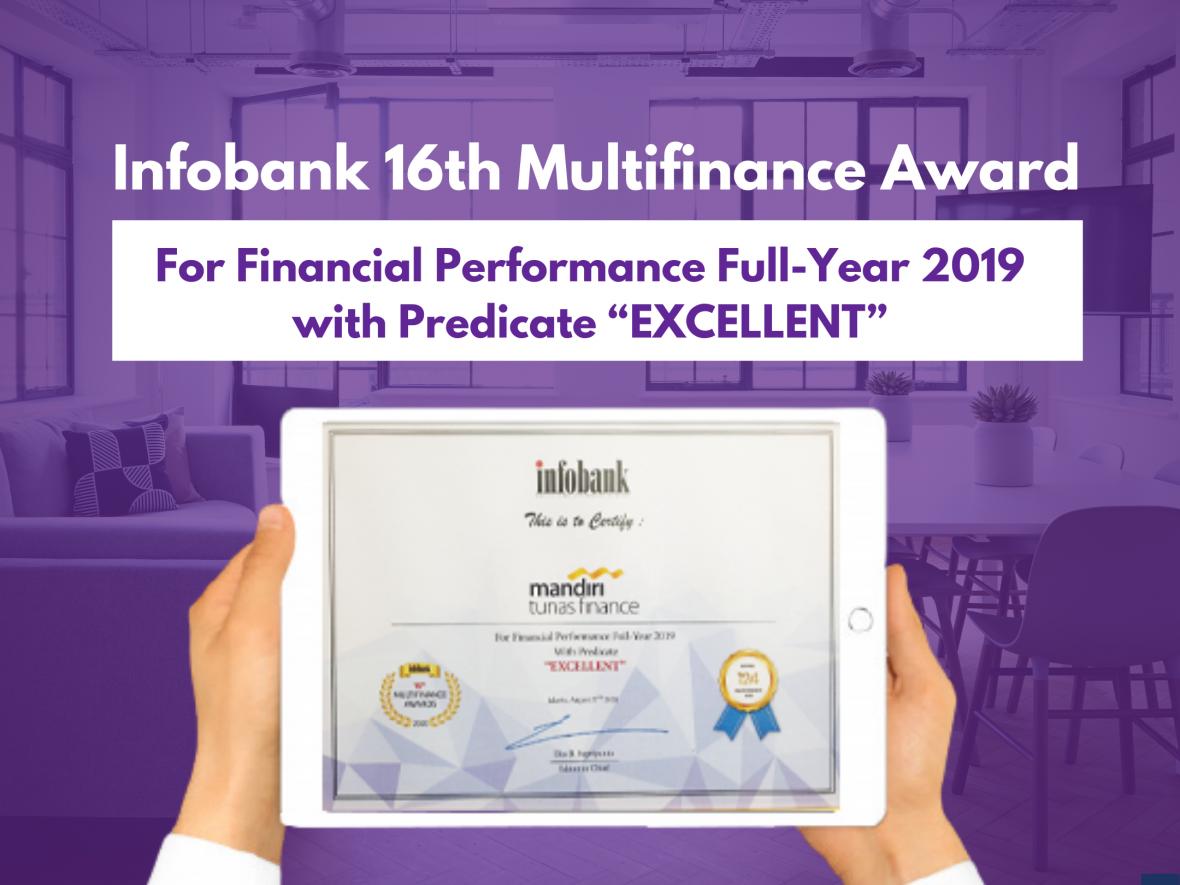 MTF Raih Penghargaan Financial Performance Full-Year 2019