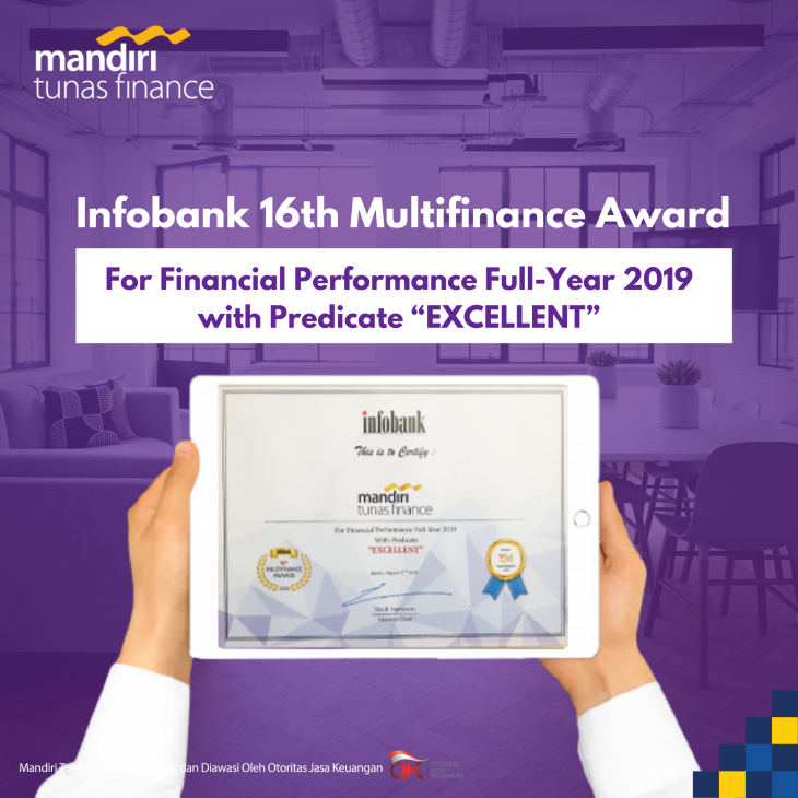 MTF Raih Penghargaan Financial Performance Full-Year 2019