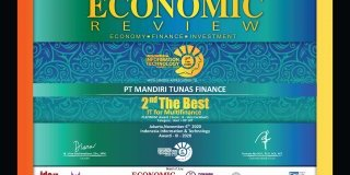MTF Raih Penghargaan 2nd The Best IT For Multifinance 2020