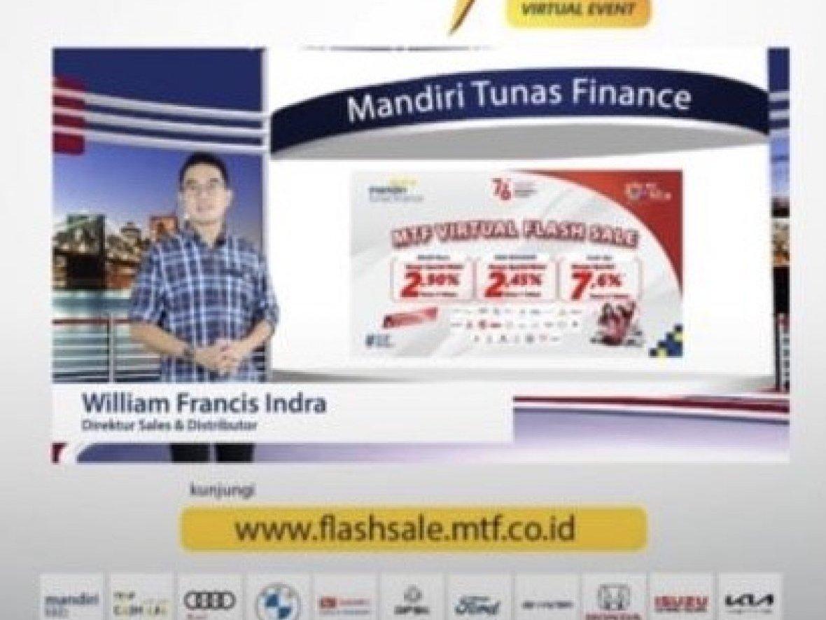 Launching MTF Virtual Flash Sale 2021, Momen Special HUT RI Ke-76th Dari MTF Untuk Indonesia